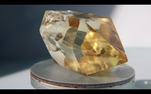 Double Terminated Citrine 61.4g 57.1mm x 32mm