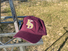 Load image into Gallery viewer, Maroon + Gold Frat Hat