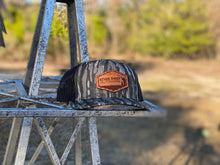 Load image into Gallery viewer, Bottomland Camo Leather Patch Snapback