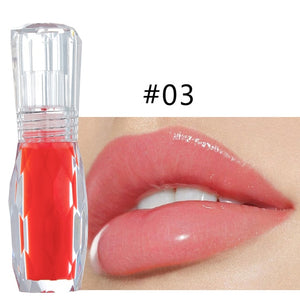 Natural Mint 3D Crystal Lip Gloss