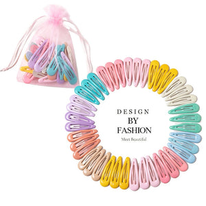 10-40pcs Pastel and Assorted Hair Clips