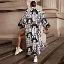 Load image into Gallery viewer, Casual Fashion Face Print Trendy Windbreaker Suit