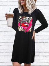 Load image into Gallery viewer, Casual Fashion Printed Long Sleeve Dress