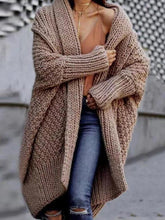 Load image into Gallery viewer, Loose And Thick Sweater Cardigan Coat