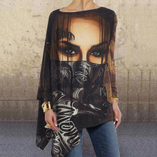 Load image into Gallery viewer, Loose Casual Irregular Printed T-Shirt