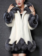 Load image into Gallery viewer, Medium Length Fox Fur Coat