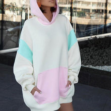 Load image into Gallery viewer, Fashion Hooded Long-Sleeved Loose Sweatshirt