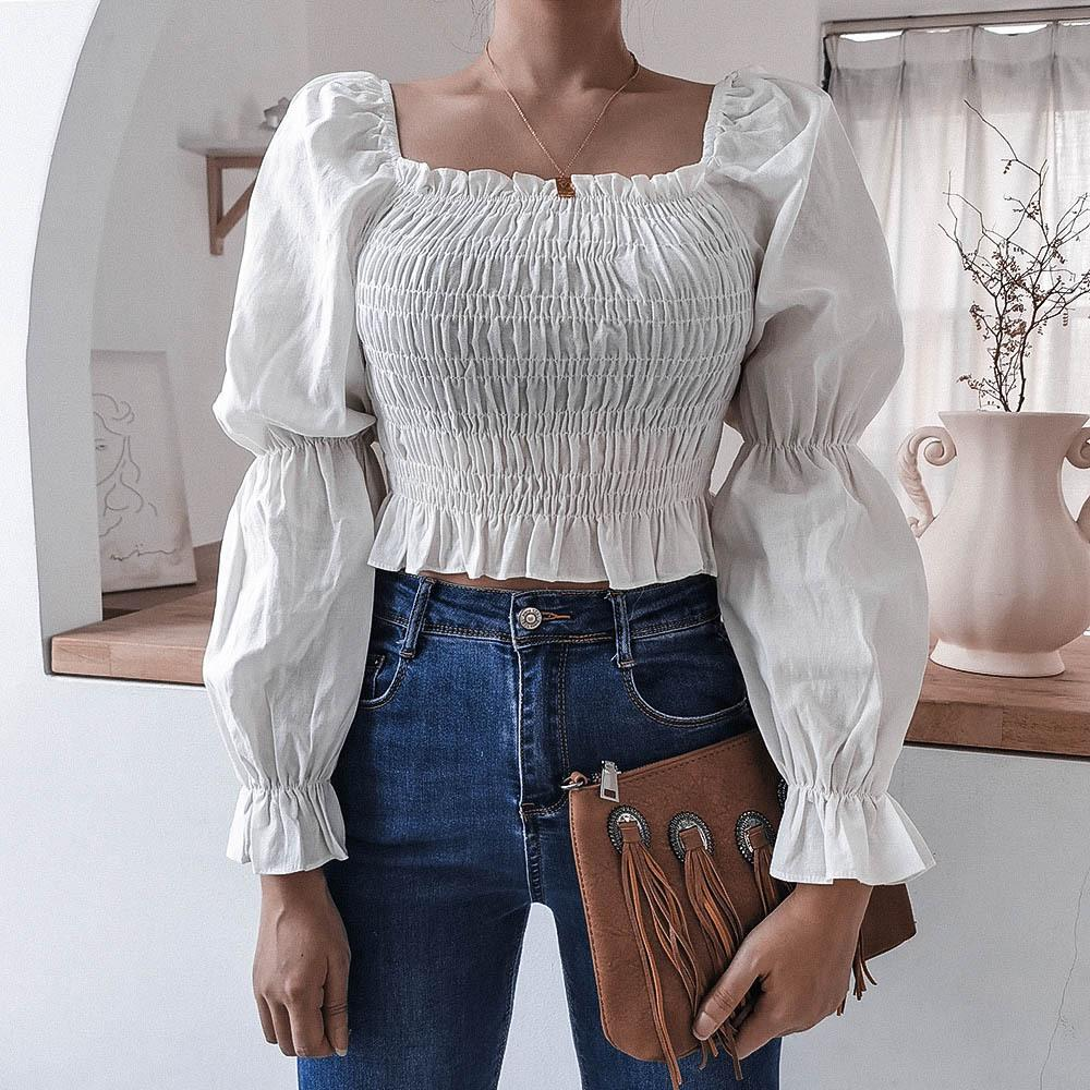 Puff Sleeves Chic Blouse