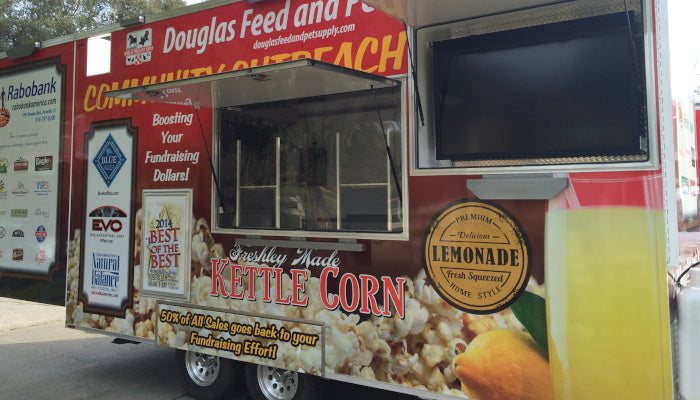 Kettle Korn Trailer