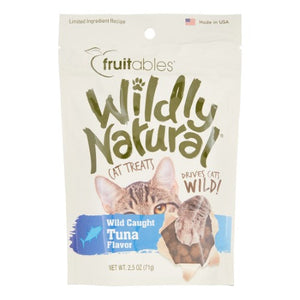 Fruitables Wildly Natural® Tuna Cat Treats