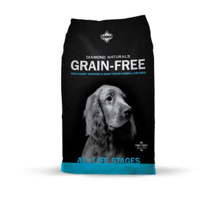 Diamond Naturals Grain Free Whitefish & Sweet Potato Dry Dog Food