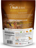 Fruitables Skinny Minis Rotisserie Chicken Flavor Soft & Chewy Dog Treats