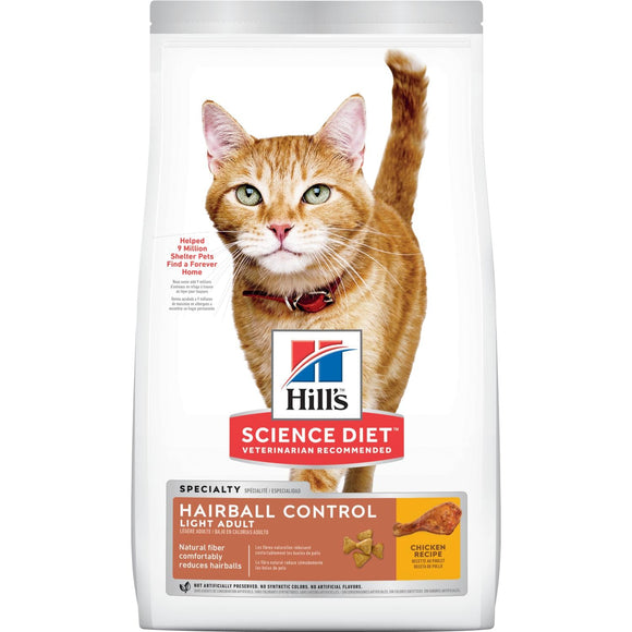 Hill's® Science Diet® Adult Hairball Control Light Cat Food