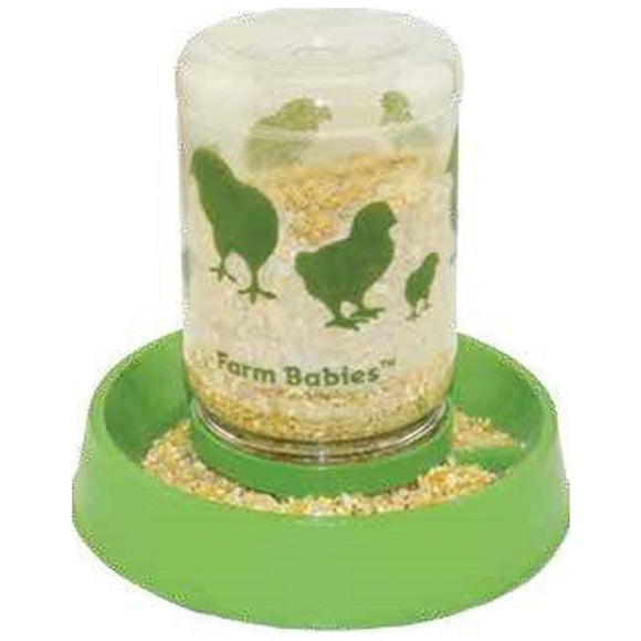FARM BABIES BABY CHICK FEEDER-FOUNT