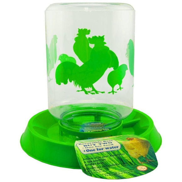 LIXIT CHICKEN FEEDER/WATERER COMBO