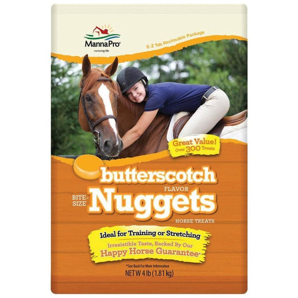 MANNA PRO BITE-SIZE NUGGETS HORSE TREATS