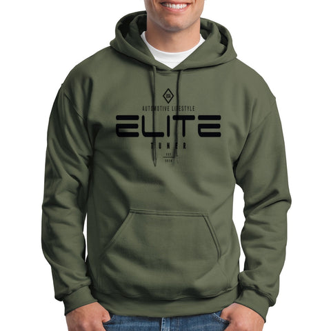 Elite Tuner Hoodie (Lifestyle) Military Green pre order