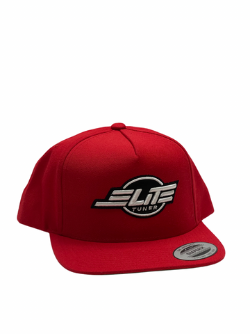 Red Elite Tuner Hat