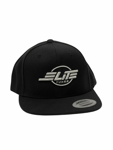 Black Elite Tuner Hat