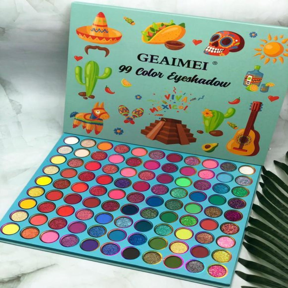 Geaimei 99 Colors Eyeshadow Palette