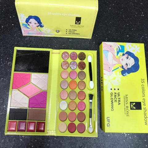 Miss rose 35 color eye shadow palette