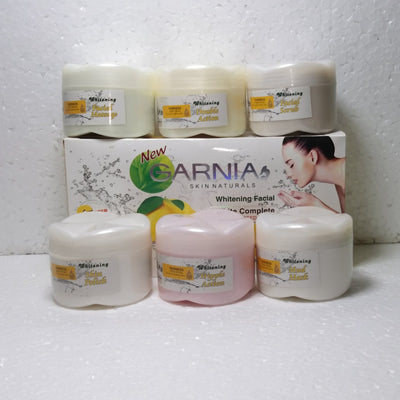 Garnia 06 Step Facial Kit Medium Size