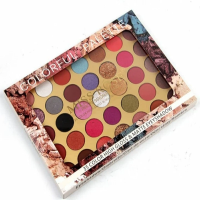 Miss rose 35 color eyeshadow palette