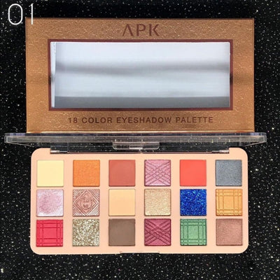 Apk 18 Colors Eyeshadow