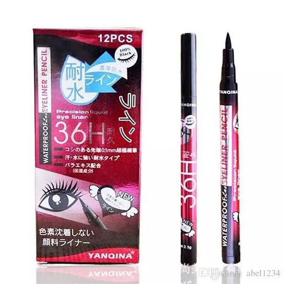 Waterproof Eyeiner Pencil Color 36 H Yanqina