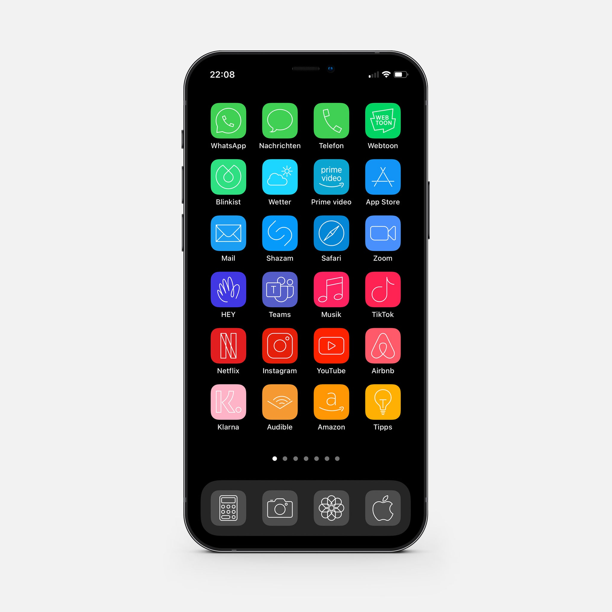 Minimalistic Color – App Icon Pack