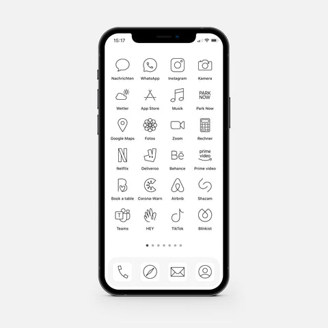 Minimalistic White – App Icon Pack