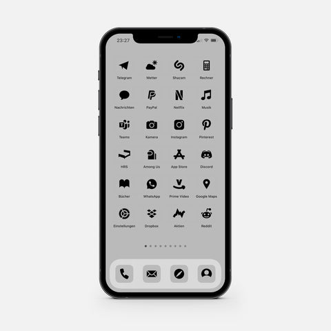 Solid Gray – App Icon Pack