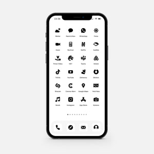 Solid White – App Icon Pack