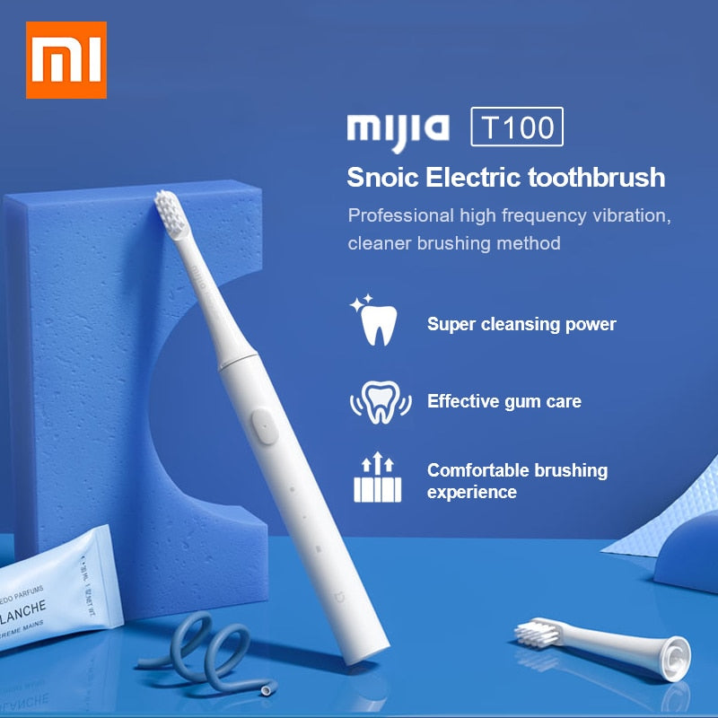 XIAOMI MIJIA Sonic Electric Cordless USB Rechargeable Toothbrush