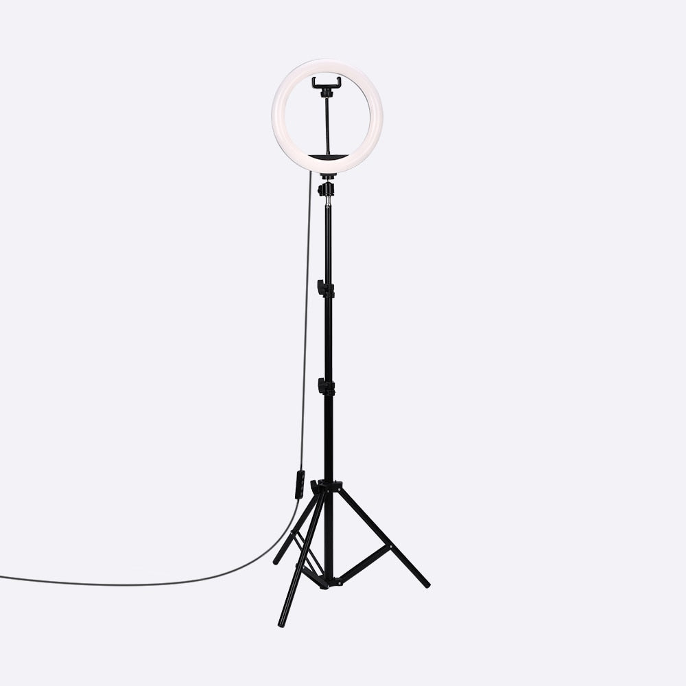 Selfie Ring Light with 1.6m Tripod