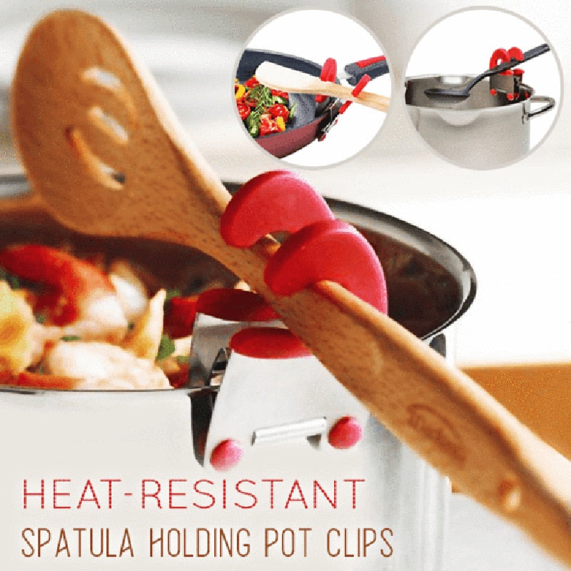 Stainless Steel Heat-resistant Spoon Spatula Holder