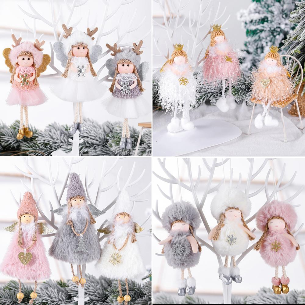 Angel Doll Christmas Ornaments Merry Christmas Decorations