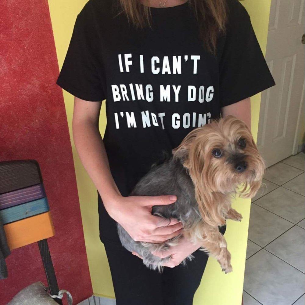 If I Cant Bring My.... T-Shirt Women's - Love Pawz