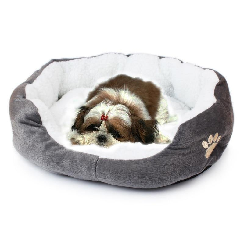 Paw Pillow Soft Bed - Love Pawz
