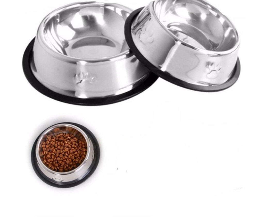 Paw Stainless Steel Footprint Bowl
