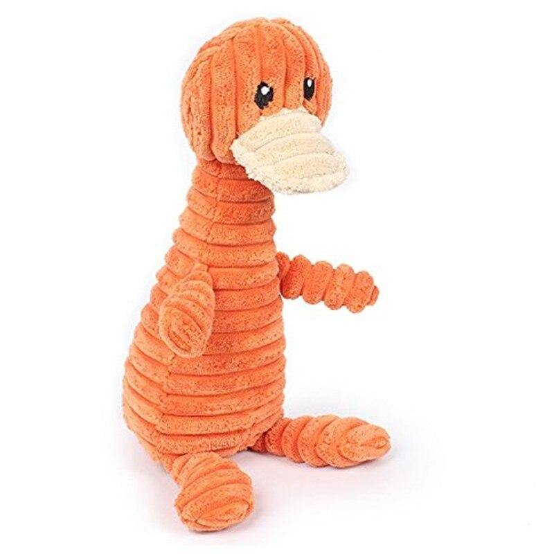 Orange Platypus Plush Toy - Love Pawz