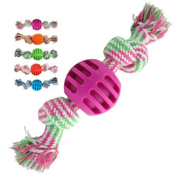 Bite Resistant Rope Knot Toy - Love Pawz