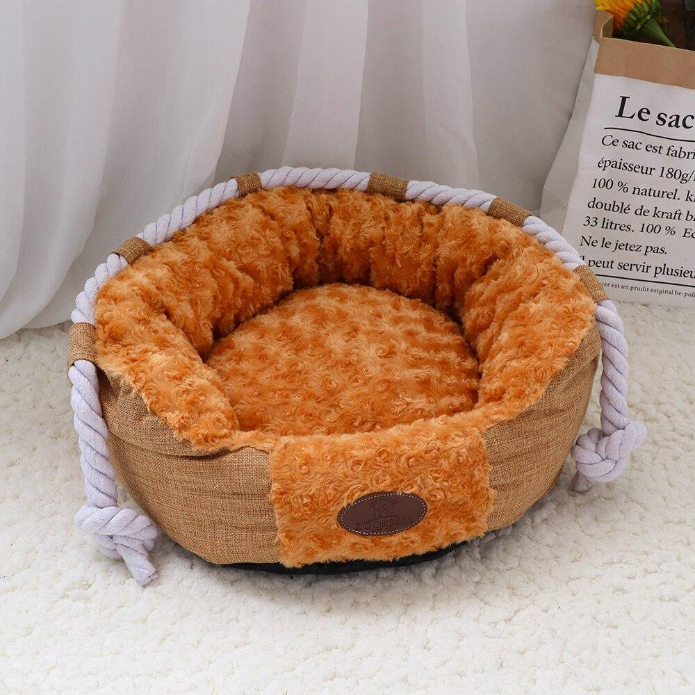 Claus Small Dog Bed - Love Pawz