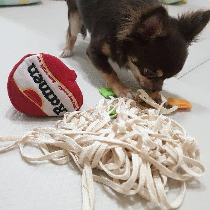 Dogs Snuffle Noodle Toys - Lovepawz