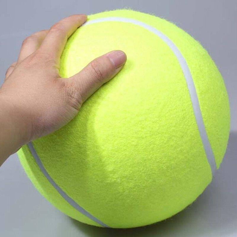 Giant Dog Tennis Ball - Love Pawz