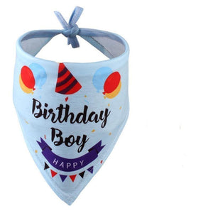 """Happy Birthday"" Bandanas"