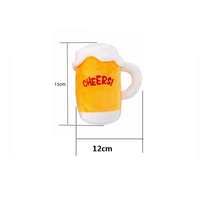 Cheers Beer Mug Plush