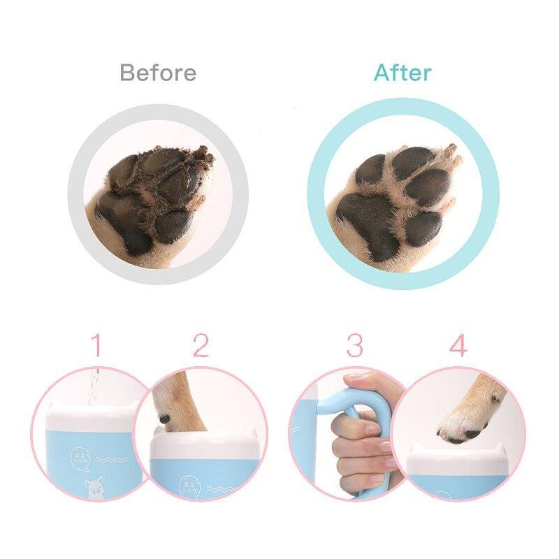 Silicone Paw Washer - Love Pawz