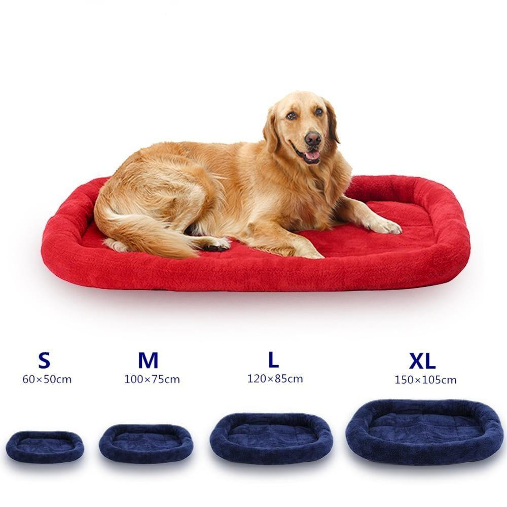 Flate Bed For Large Dogs - Love Pawz