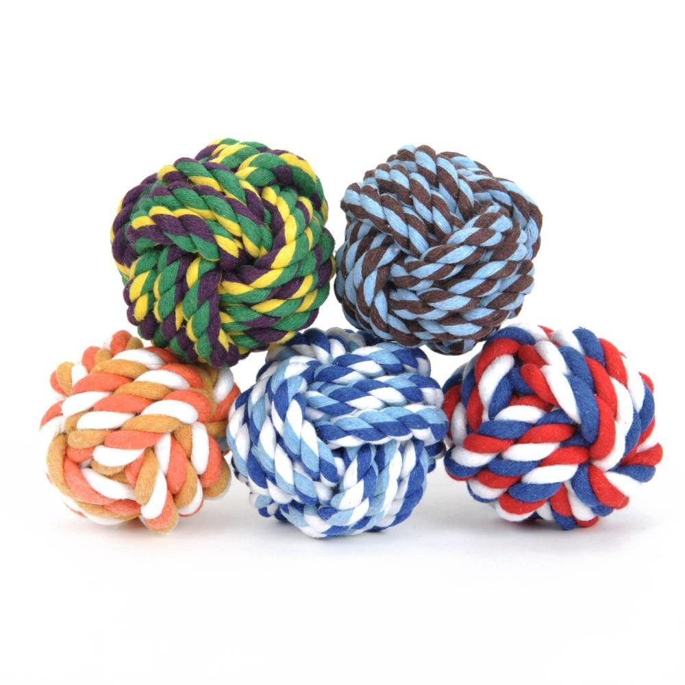Rope and Ball Toys - Love Pawz